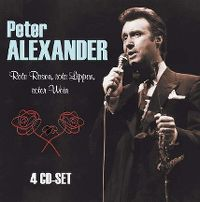Cover Peter Alexander - Rote Rosen, rote Lippen, roter Wein [4 CD-Set]